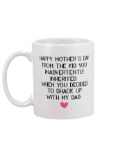 Funny Step Mom Mothers Day Mug Mug back