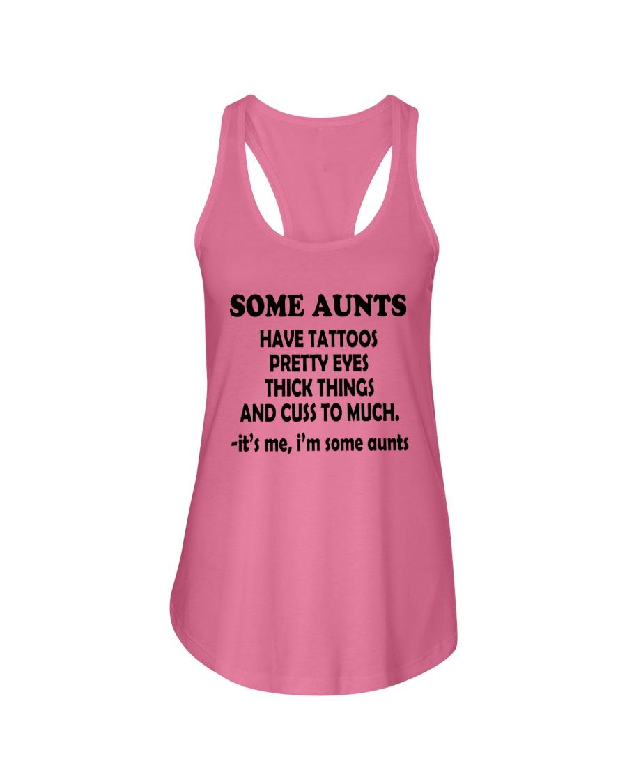 IM SOME AUNTS SHIRT Ladies Flowy Tank