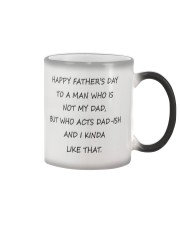 Funny Step Dad Fathers Day Mug Color Changing Mug thumbnail