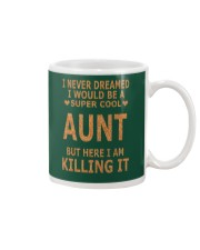SOME AUNTS CUSS TO MUCH SHIRT Mug thumbnail