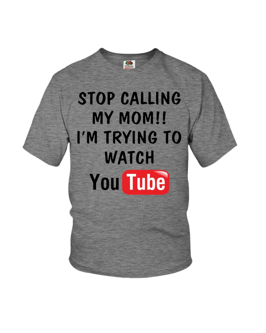 Stop Calll My Mom Youth T-Shirt