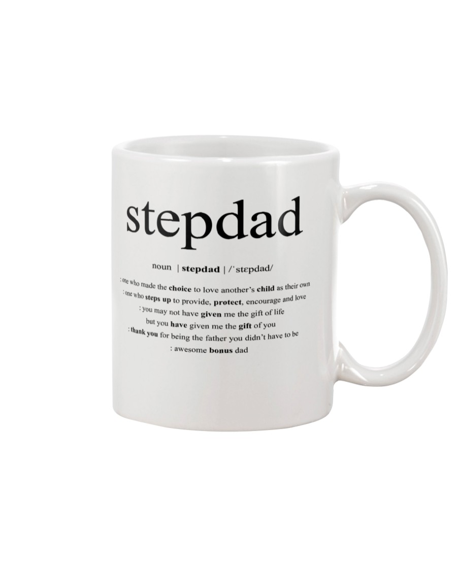 Step Dad Fathers Day Mug Mug