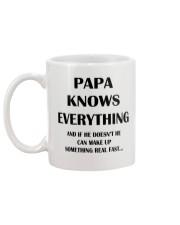 Funny PAPA Gift Mug Mug back