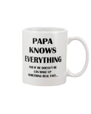 Funny PAPA Gift Mug Mug front