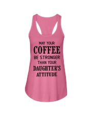 May your coffee be stronger Ladies Flowy Tank thumbnail