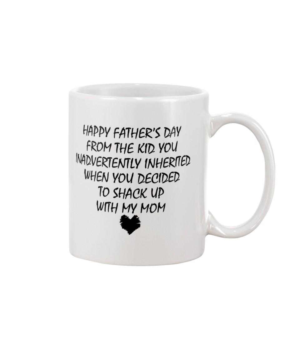 Funny Step Dad Fathers Day Mug Mug