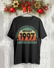 Made In January 1997 Vintage 23th T-Shirt Classic T-Shirt lifestyle-holiday-crewneck-front-2