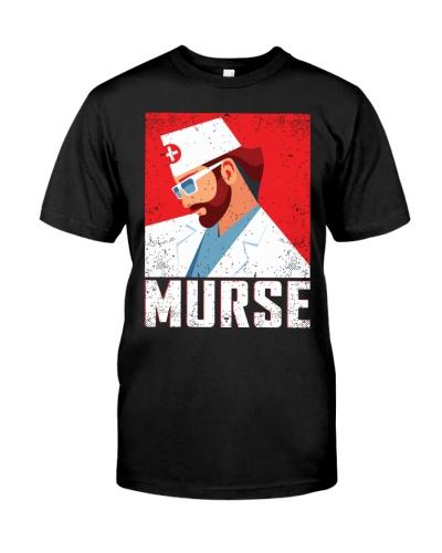 Murse Funny Stethoscope Heart Nurse