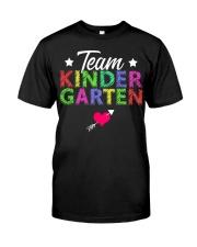 Team Kindergarten Shirt Teacher Student T-Shirt Classic T-Shirt front