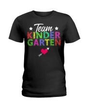 Team Kindergarten Shirt Teacher Student T-Shirt Ladies T-Shirt thumbnail