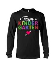 Team Kindergarten Shirt Teacher Student T-Shirt Long Sleeve Tee thumbnail