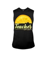 Teacher Off Duty T-Shirt Sleeveless Tee thumbnail