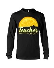 Teacher Off Duty T-Shirt Long Sleeve Tee thumbnail