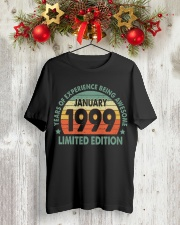 Made In January 1999 Vintage 21th T-Shirt Classic T-Shirt lifestyle-holiday-crewneck-front-2