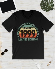 Made In January 1999 Vintage 21th T-Shirt Classic T-Shirt lifestyle-mens-crewneck-front-17