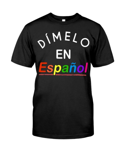 Espanol Spanish Bilingual Teacher T-Shirt