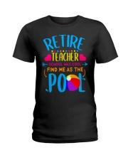 Teacher Retirement Gift School T-Shirt Ladies T-Shirt thumbnail