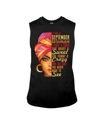 I'm A September Queen I Have 3 Sides Gift