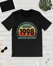 Made In January 1998 Vintage 22th T-Shirt Classic T-Shirt lifestyle-mens-crewneck-front-17