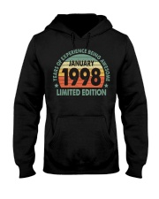 Made In January 1998 Vintage 22th T-Shirt Hooded Sweatshirt thumbnail