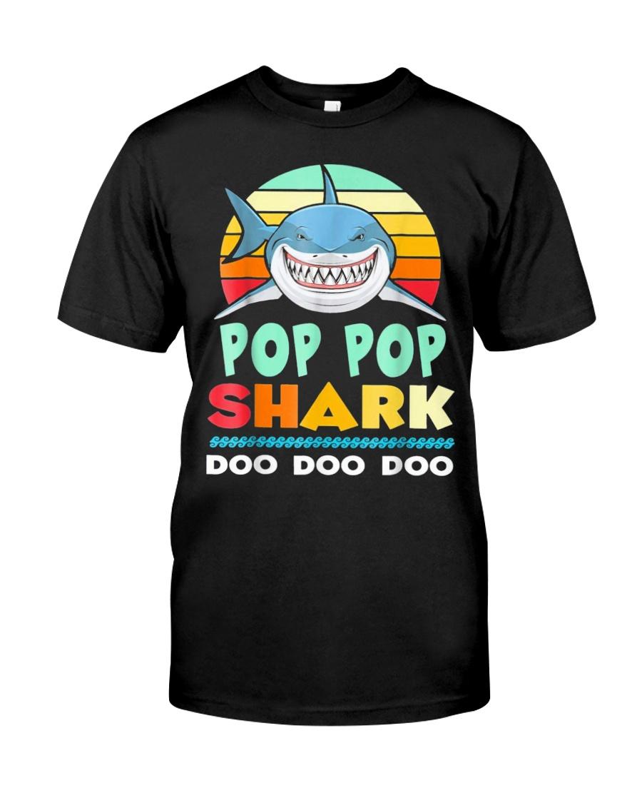 POP POP SHARK Classic T-Shirt