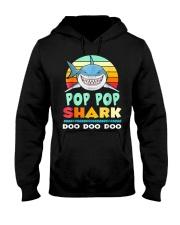 POP POP SHARK Hooded Sweatshirt thumbnail
