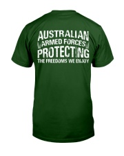 australia armed forces Classic T-Shirt back