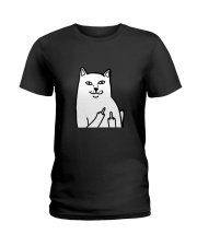 Limited Edition - Embroidery artwork Ladies T-Shirt thumbnail
