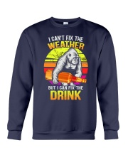 I can't fix the weather Crewneck Sweatshirt tile