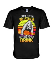 I can't fix the weather V-Neck T-Shirt thumbnail