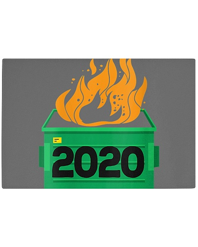 Womens Dumpster Fire 2020 Funny Trash Can