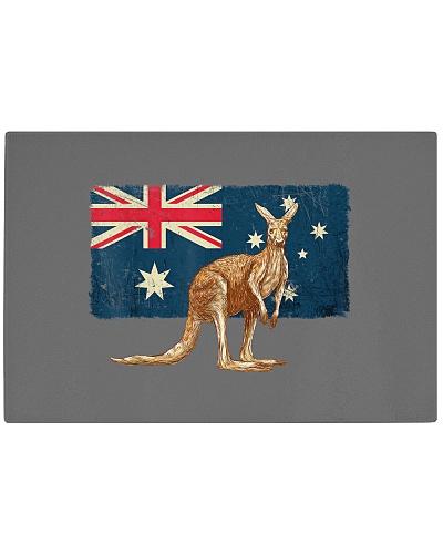 Australia Day Kangaroo And Flag Funny