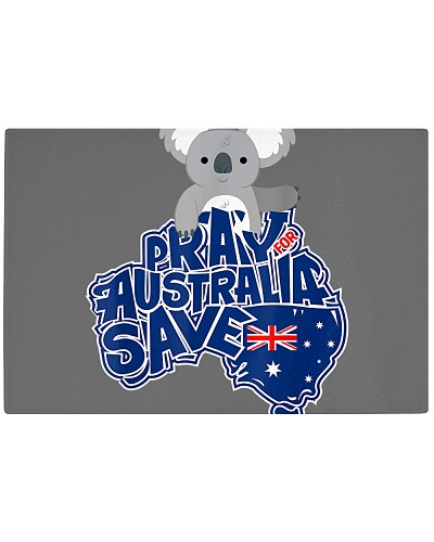 Pray For Australia Rain Save Koala Australian
