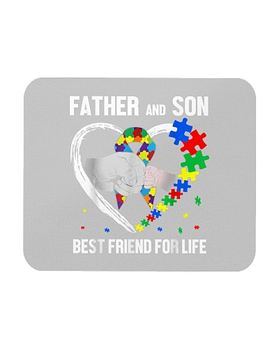 Autism Awareness Father And Son Best Friend