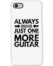 Always Could Use Just One More Guitar - Black Phone Case thumbnail