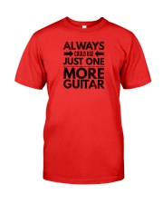 Always Could Use Just One More Guitar - Black Premium Fit Mens Tee front
