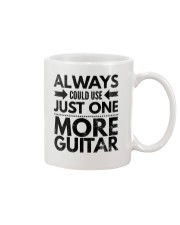 Always Could Use Just One More Guitar - Black Mug thumbnail