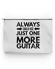 Always Could Use Just One More Guitar - Black Accessory Pouch - Large thumbnail