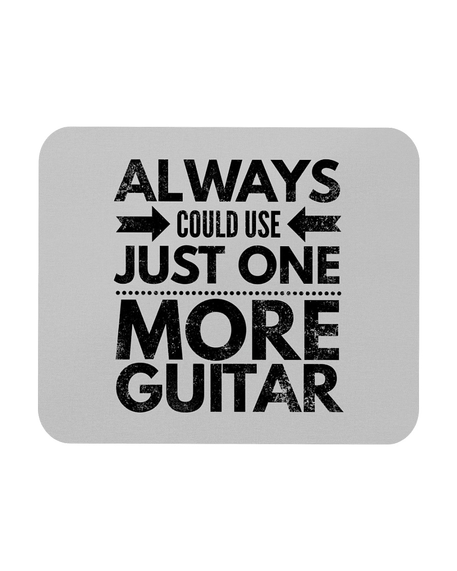Always Could Use Just One More Guitar - Black Mousepad