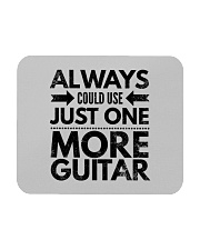 Always Could Use Just One More Guitar - Black Mousepad front