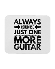 Always Could Use Just One More Guitar - Black Mousepad thumbnail