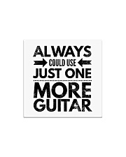 Always Could Use Just One More Guitar - Black Square Magnet thumbnail