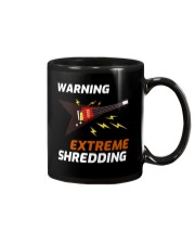 Warning Extreme Shredding Mug thumbnail