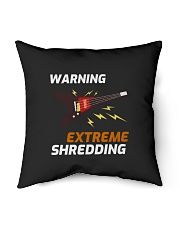 "Warning Extreme Shredding Indoor Pillow - 16"" x 16"" thumbnail"