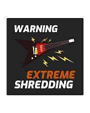 Warning Extreme Shredding Square Coaster thumbnail