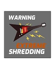 Warning Extreme Shredding Square Coaster front