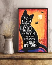 BLACK CATS ARE SEEN THE MOON 16x24 Poster lifestyle-poster-3