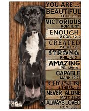 YOU ARE BEAUTIFUL GREAT DANE 11x17 Poster front