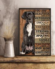 YOU ARE BEAUTIFUL GREAT DANE 11x17 Poster lifestyle-poster-3