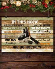 IN THIS HOME WE DO HOCKEY 24x16 Poster aos-poster-landscape-24x16-lifestyle-28